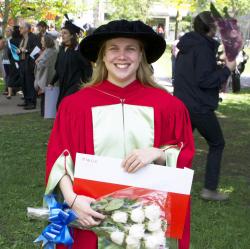 Natasha Zwarich, PhD '14. Photo credit: N. Zwarich