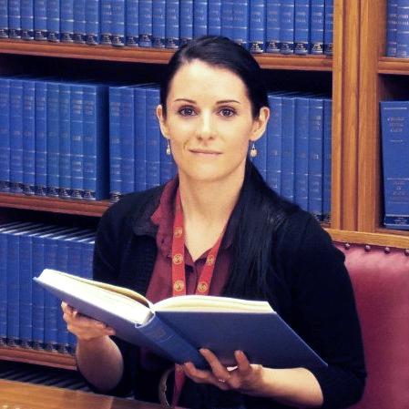 McGill School of Information Studies practicum student Kate Rozon. Photo: Merika Ramundo